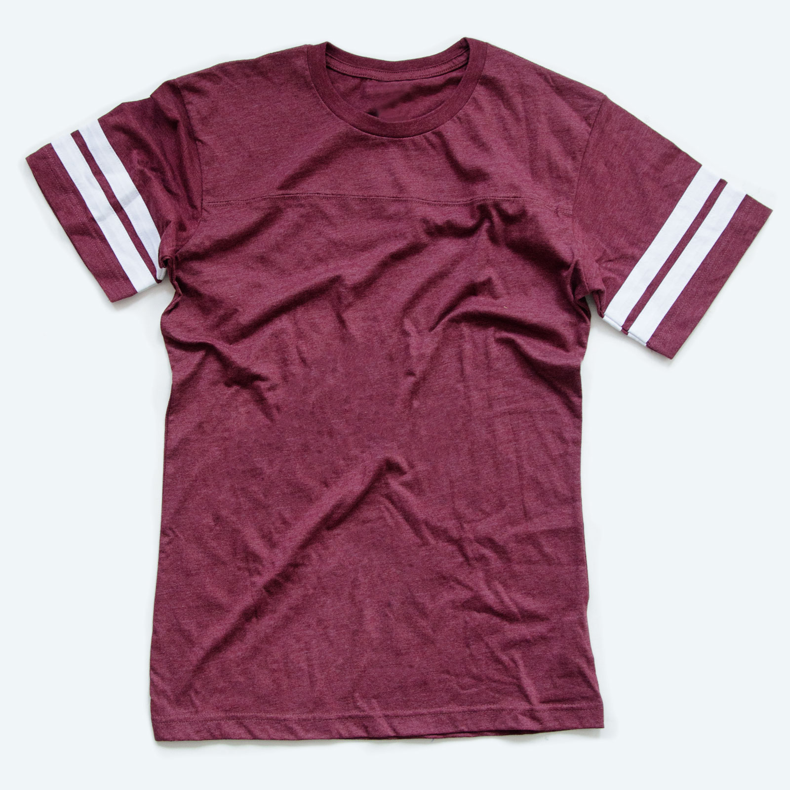 Football tees are one of the best styles of printed shirts that you can sell online.