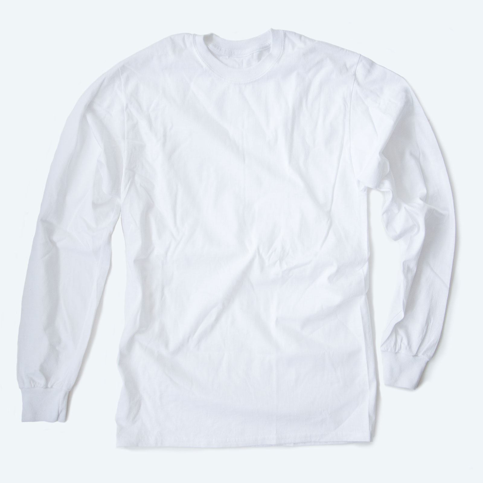 Sell long sleeve shirts online to give pizazz to your campaign.