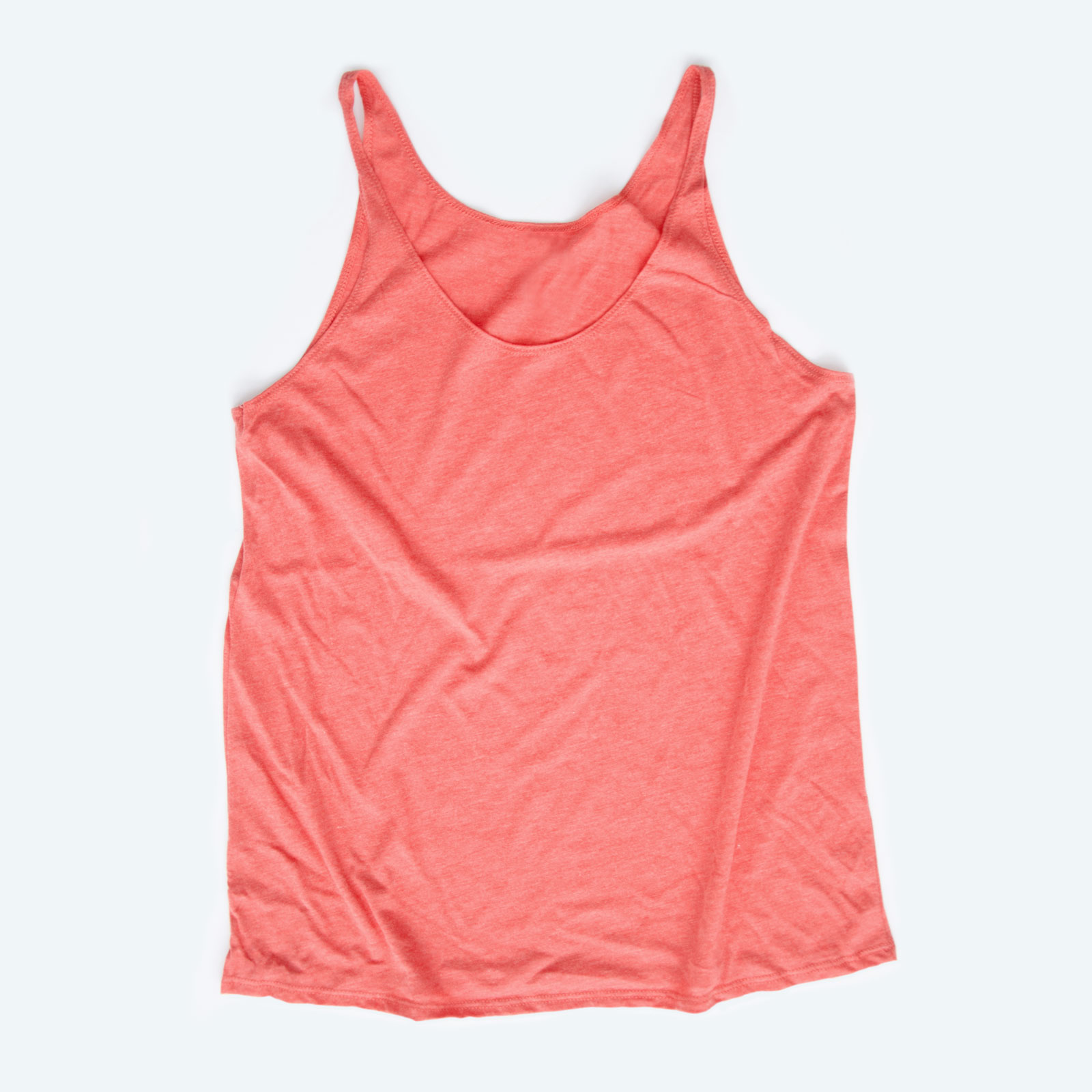 A slouchy tank top is a great shirt to sell online.