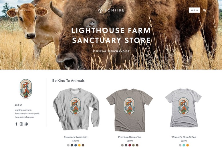 Animal Rescues store