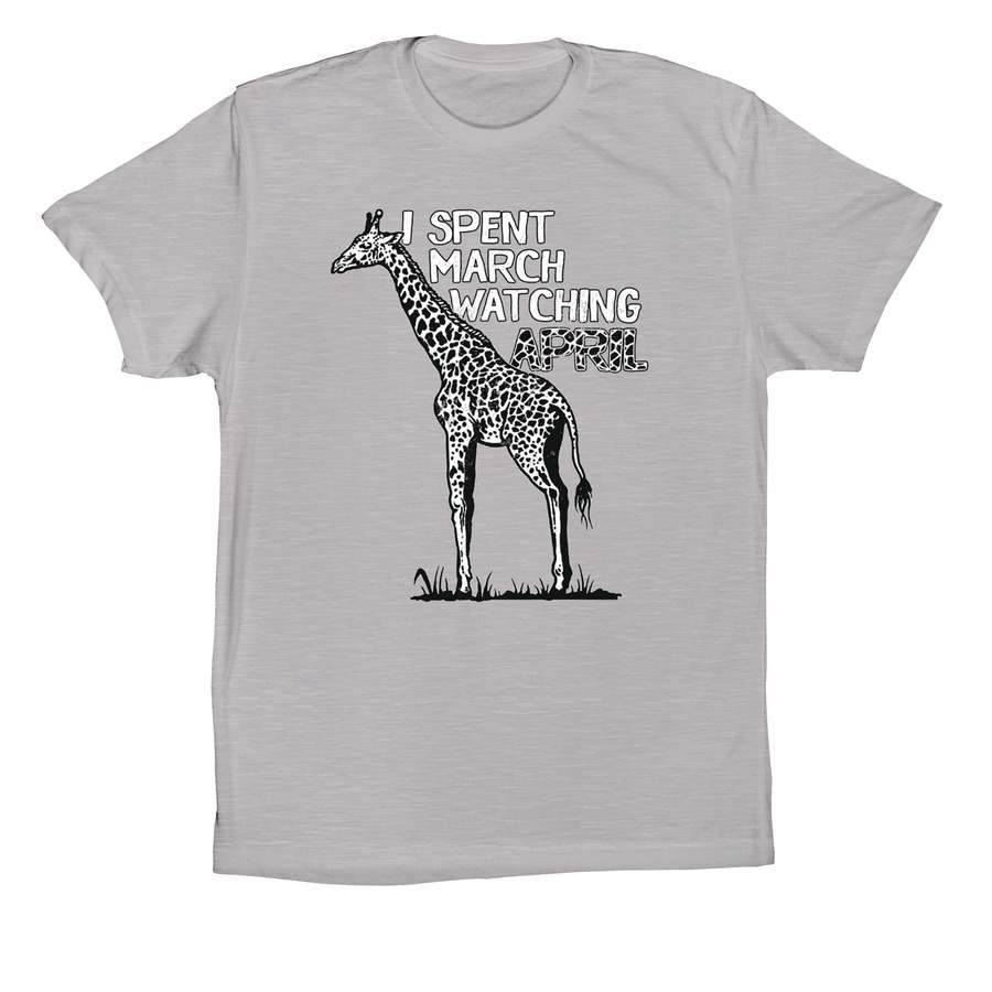 50fc8933e0 Funny and Witty April the Giraffe T-Shirt | Bonfire