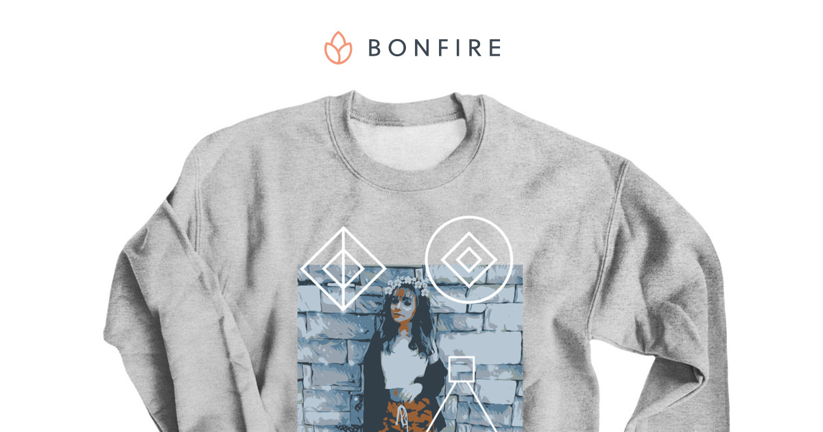 Abstract Zoe Laverne Merch Bonfire