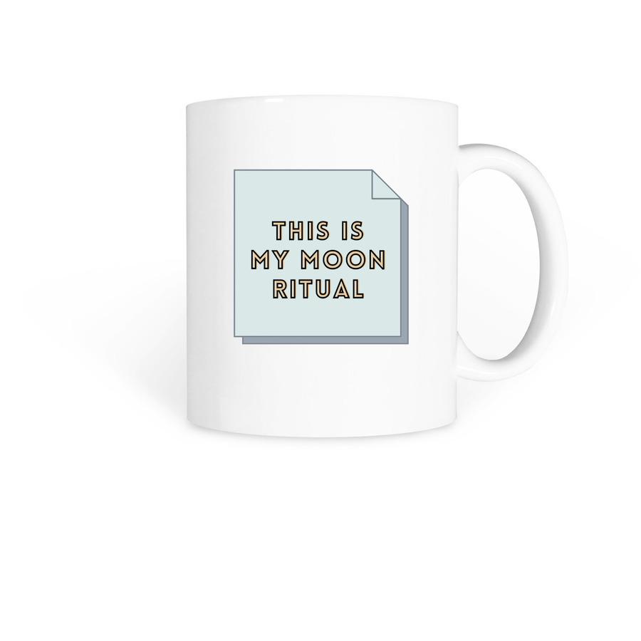Moon Ritual Mug Bonfire