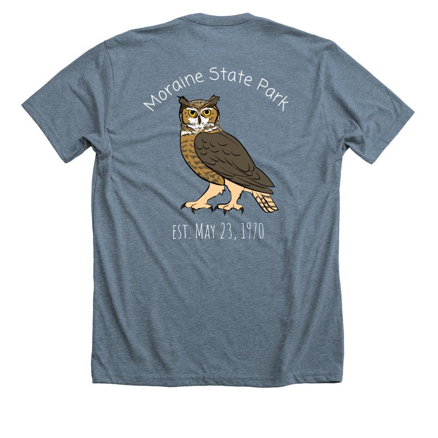 50th Anniversary Owl T Shirt Bonfire