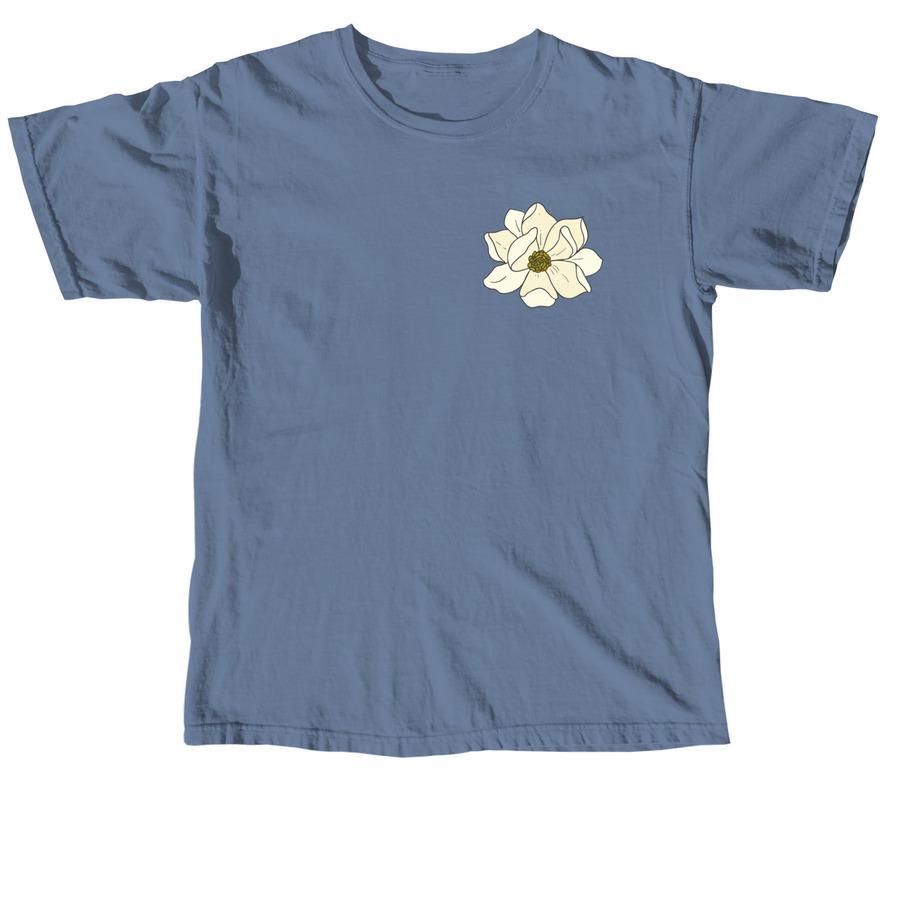 Louisiana State Flower, a Blue Jean Comfort Colors Unisex Tee