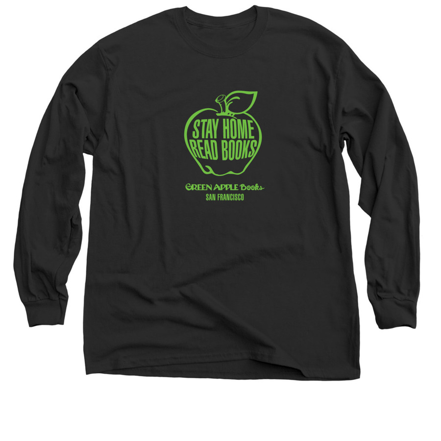 Green Apple Books, a Black Classic Long Sleeve Tee