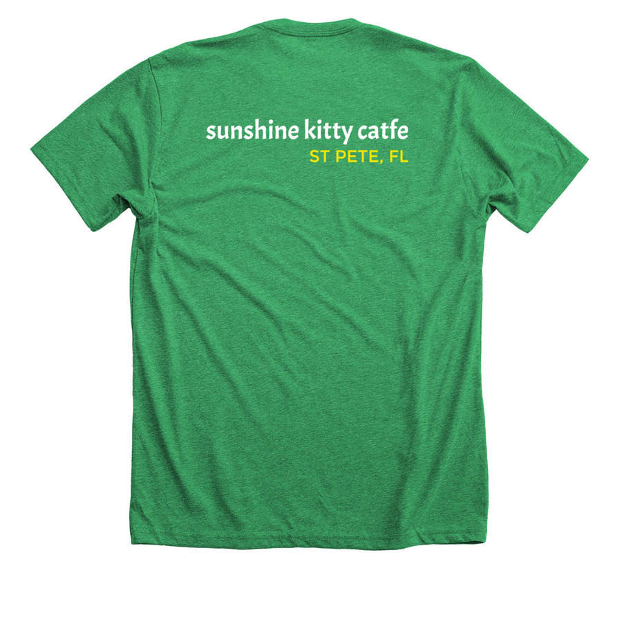 Sunshine Kitty Catfe St Petes First Cat Cafe Official Swag Bonfire