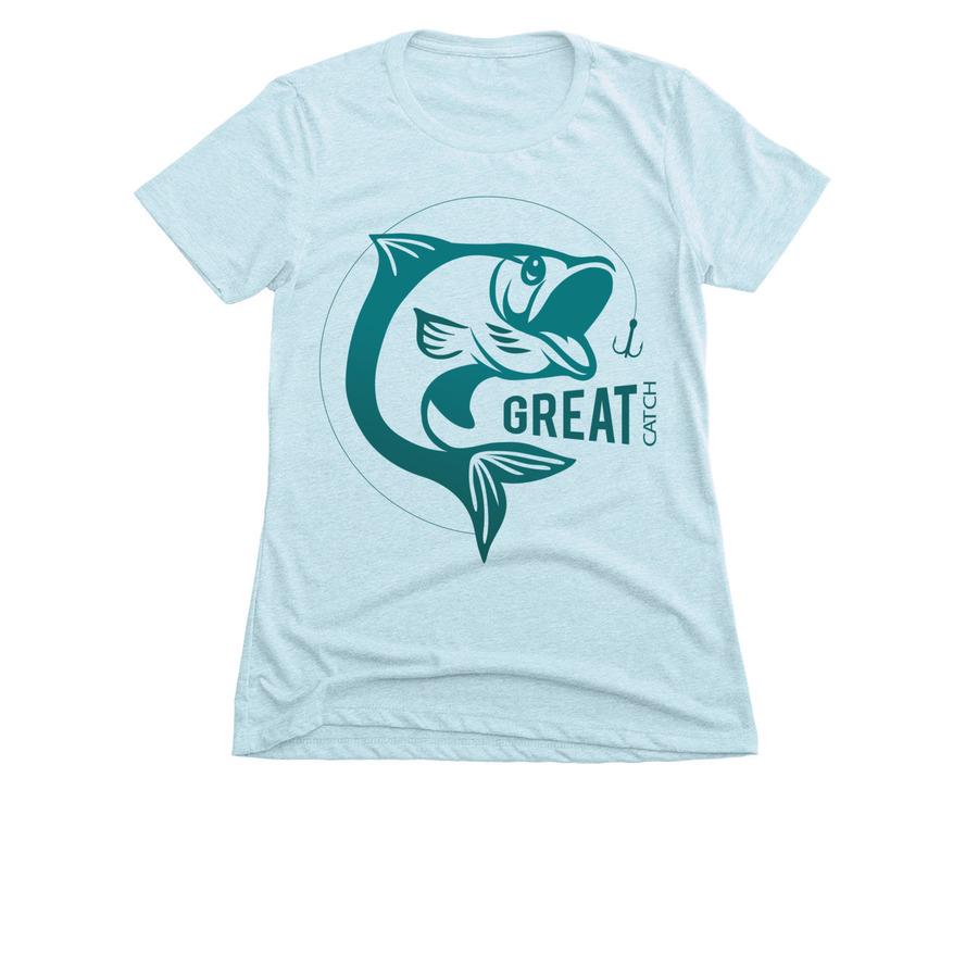 4ef9047021f Funny Fishing T-Shirt Fisherman Wife Gift