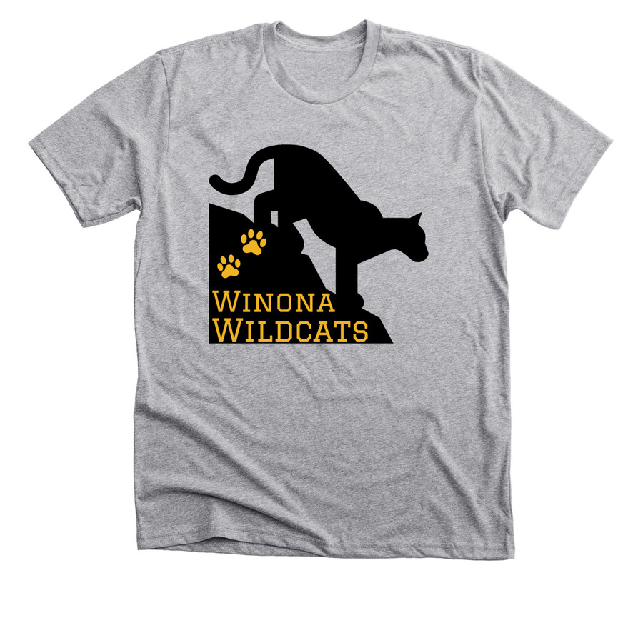 Winona Wildcat Spirit Shirt Bonfire