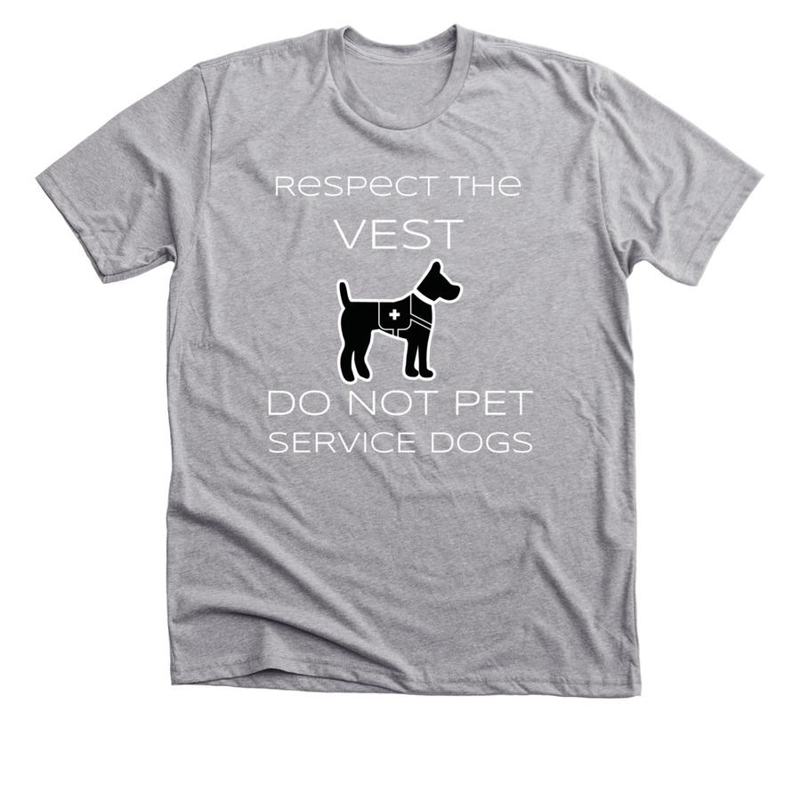 26293c89b340 Service Dog Awareness Shirts! | Bonfire