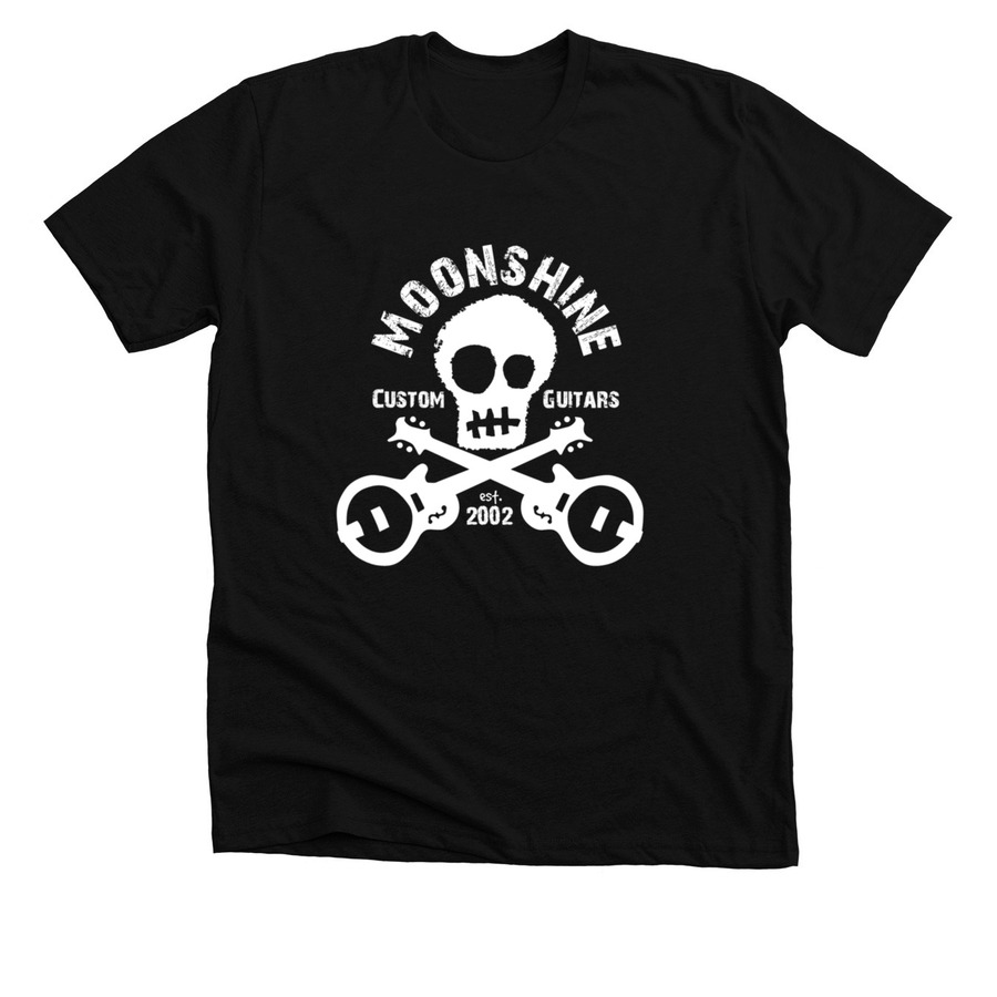 a0319061d Moonshine Custom Guitars Skull Logo T-Shirts! | Bonfire