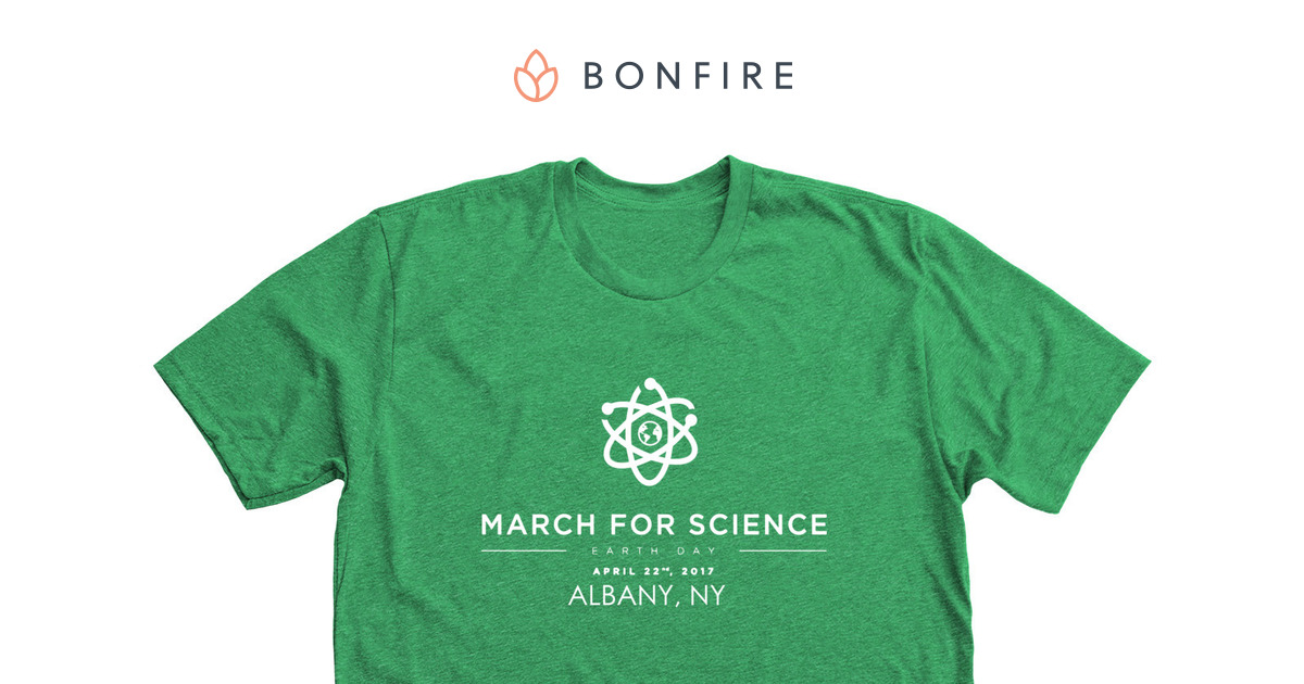 Albany March For Science Commemorative | Bonfire