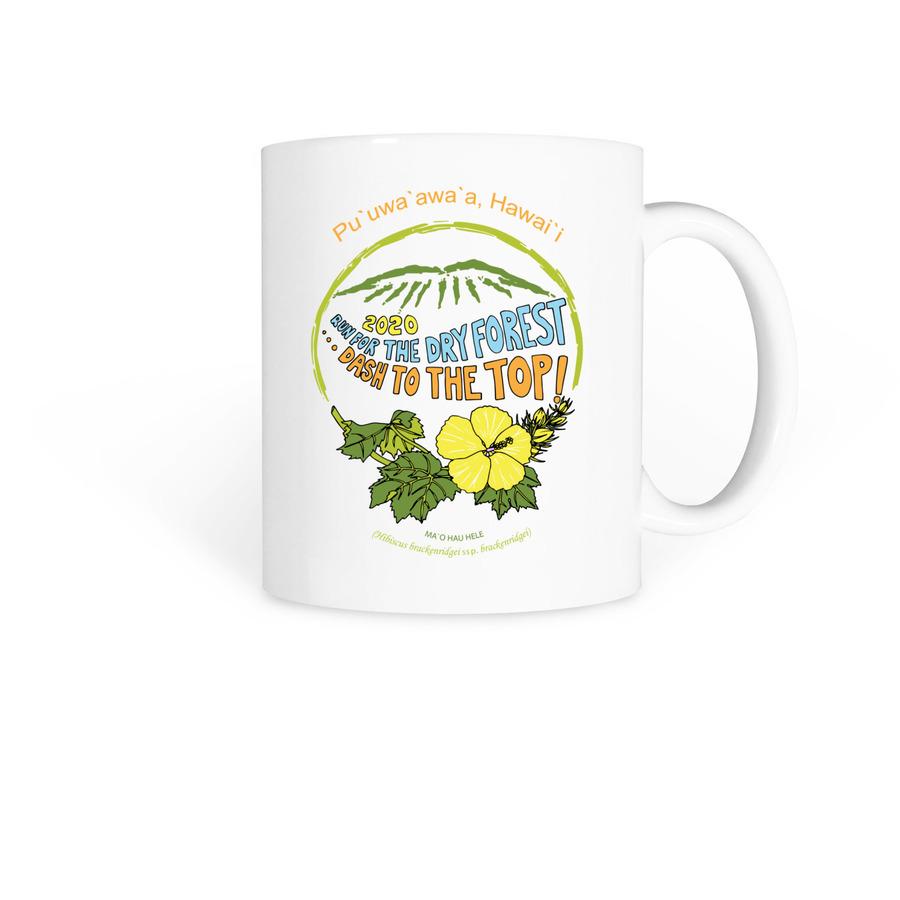 Run for the Dry Forest Logo Mug